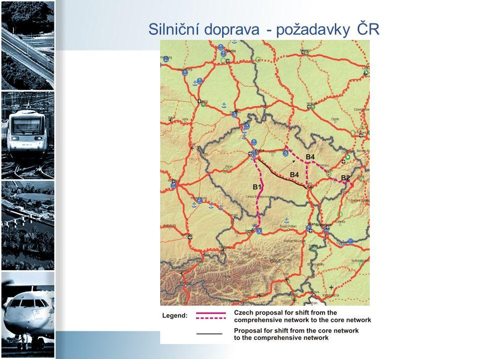 Silniční doprava - požadavky ČR