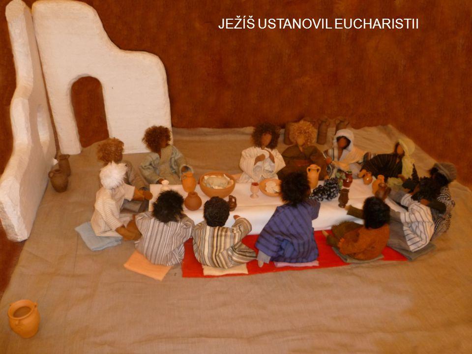 JEŽÍŠ USTANOVIL EUCHARISTII