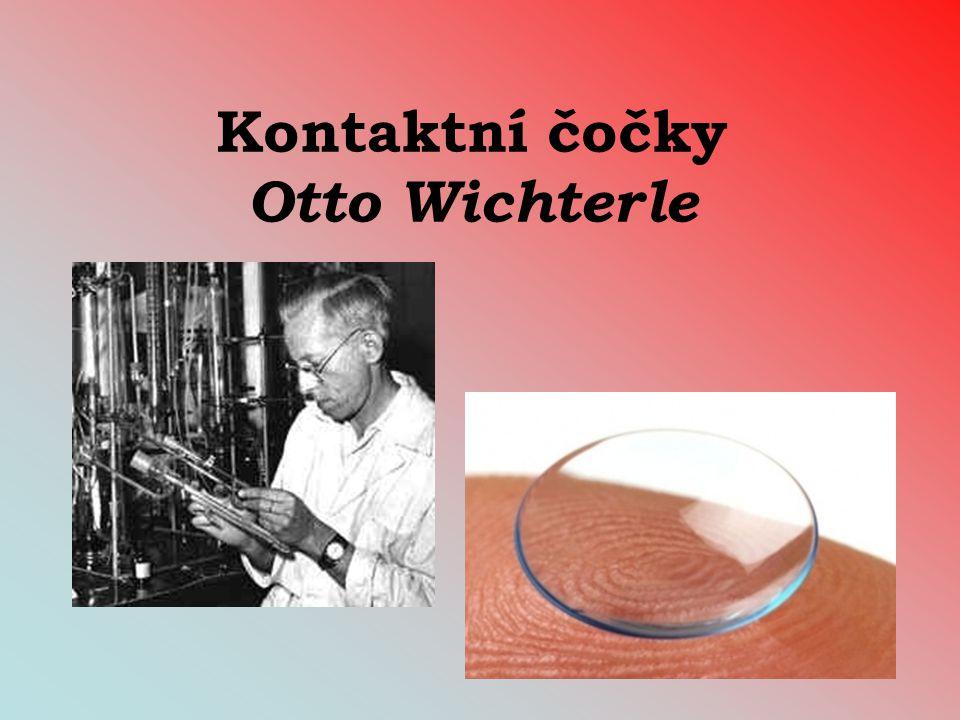 Kontaktní čočky Otto Wichterle