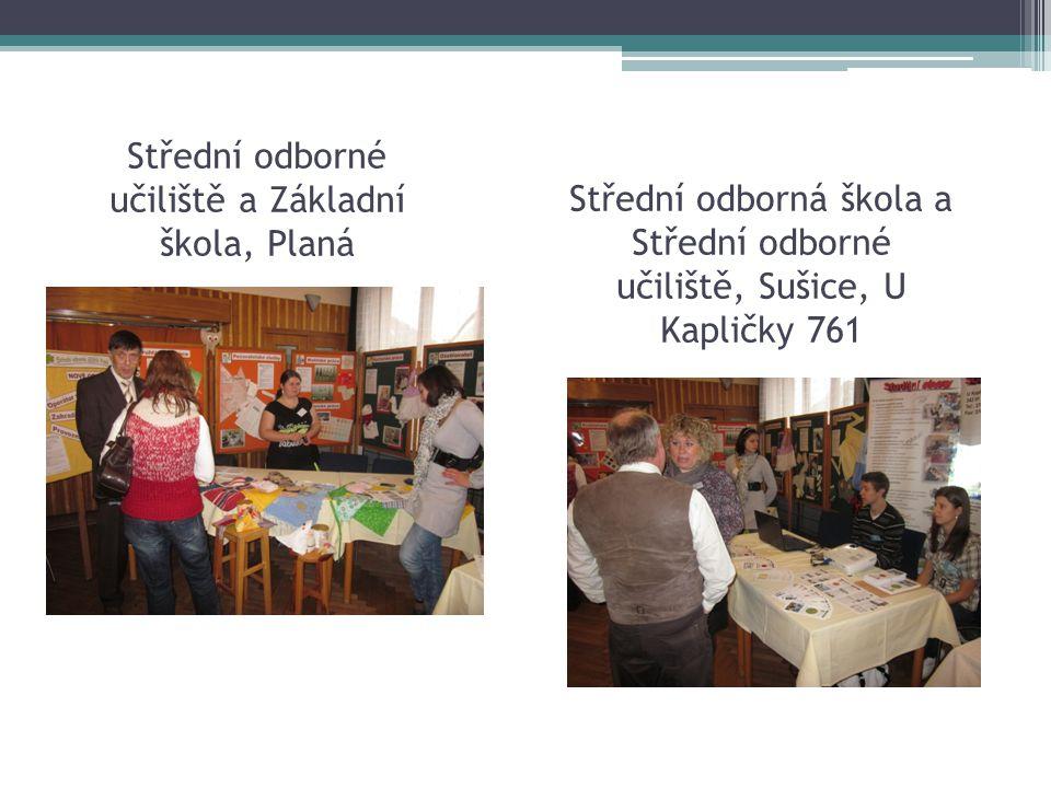 Střední odborné učiliště a Základní škola, Planá Střední odborná škola a Střední odborné učiliště, Sušice, U Kapličky 761