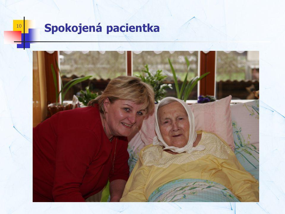 10 Spokojená pacientka