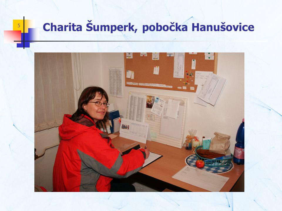5 Charita Šumperk, pobočka Hanušovice