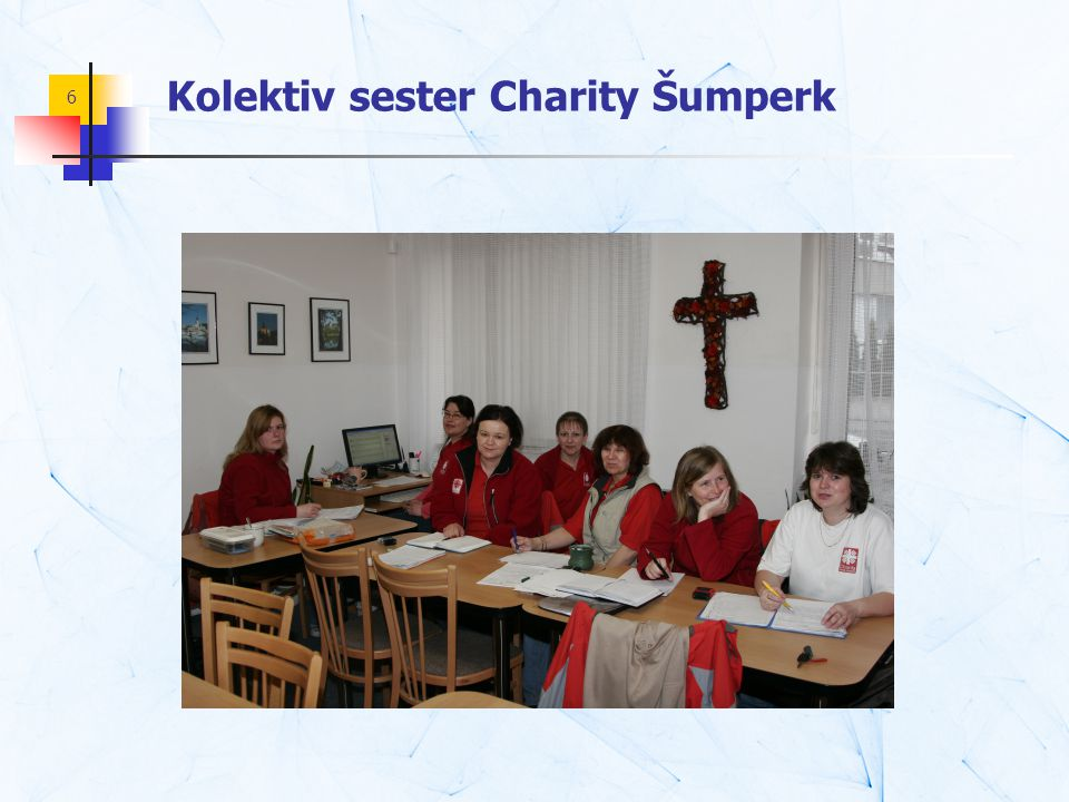 6 Kolektiv sester Charity Šumperk