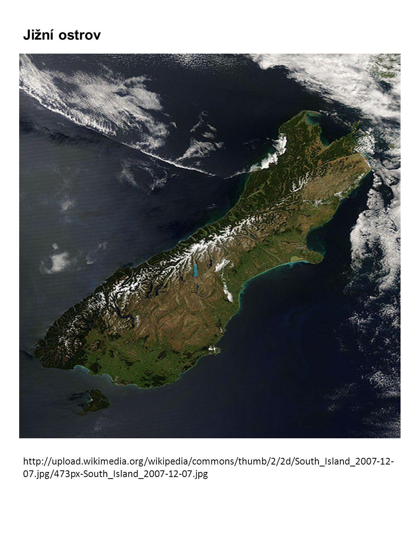 Jižní ostrov http://upload.wikimedia.org/wikipedia/commons/thumb/2/2d/South_Island_2007-12- 07.jpg/473px-South_Island_2007-12-07.jpg