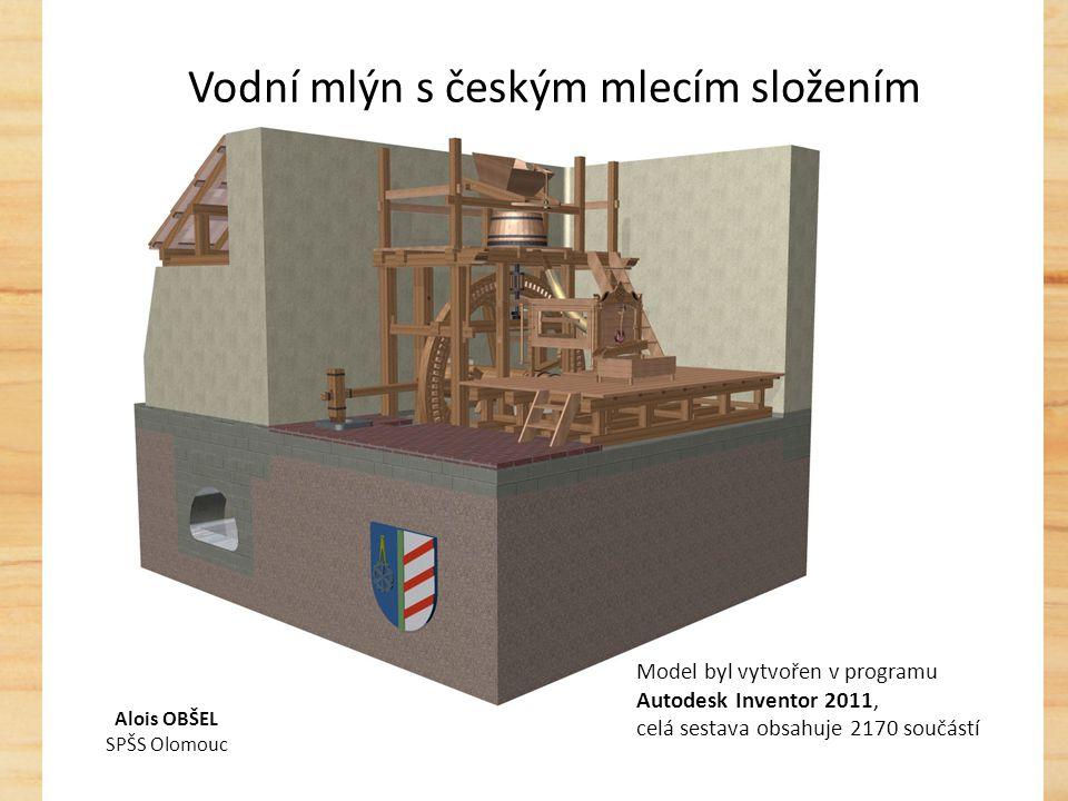 Digitální model mlýna Využití: - školství - památková péče - odborné rekonstrukce