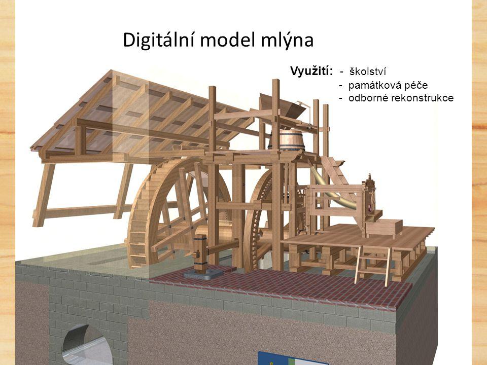 Vodní mlýn v Hoslovicích - nejstarší dochovaný mlýn na našem území - dendrologické datování do roku 1569 - od roku 2005 prochází rozsáhlou rekonstrukcí