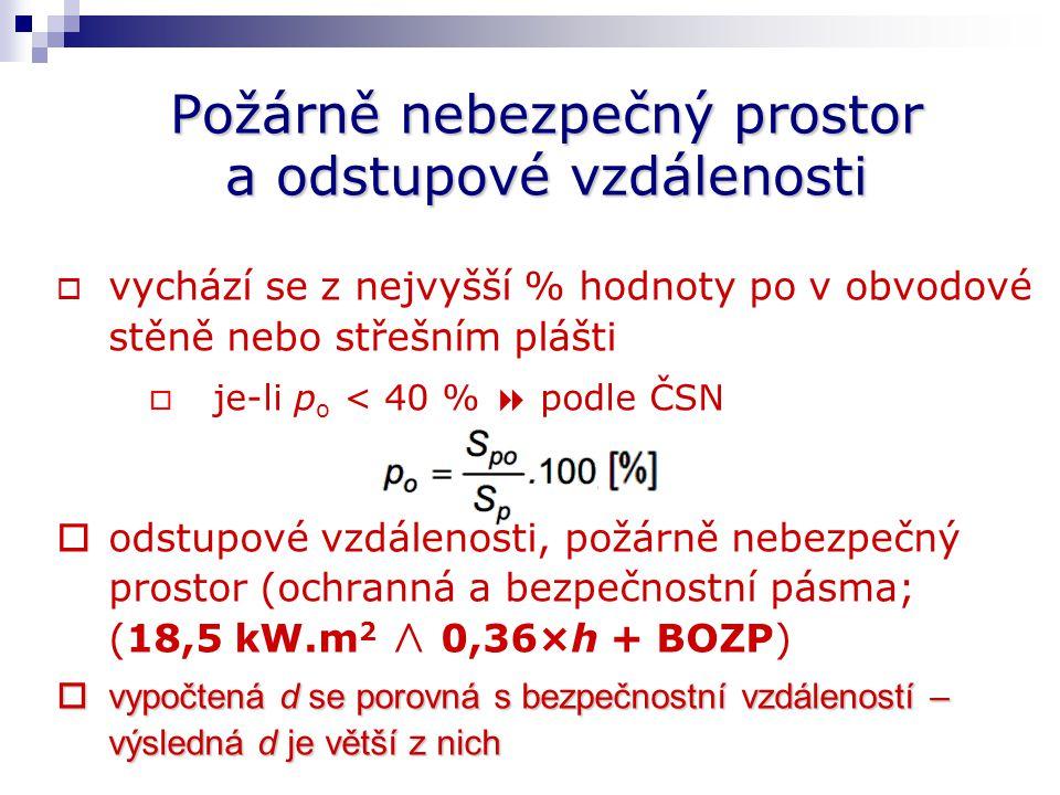 Požární bezpečnost staveb Při navrhování PBS může projektant využít:  standardního postupu  podle hodnot a postupů stanovených českými technickými n
