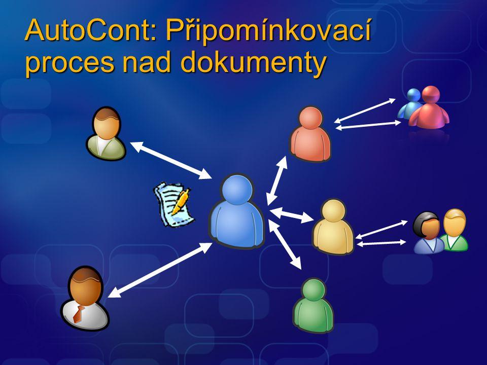 AutoCont: Připomínkovací proces nad dokumenty
