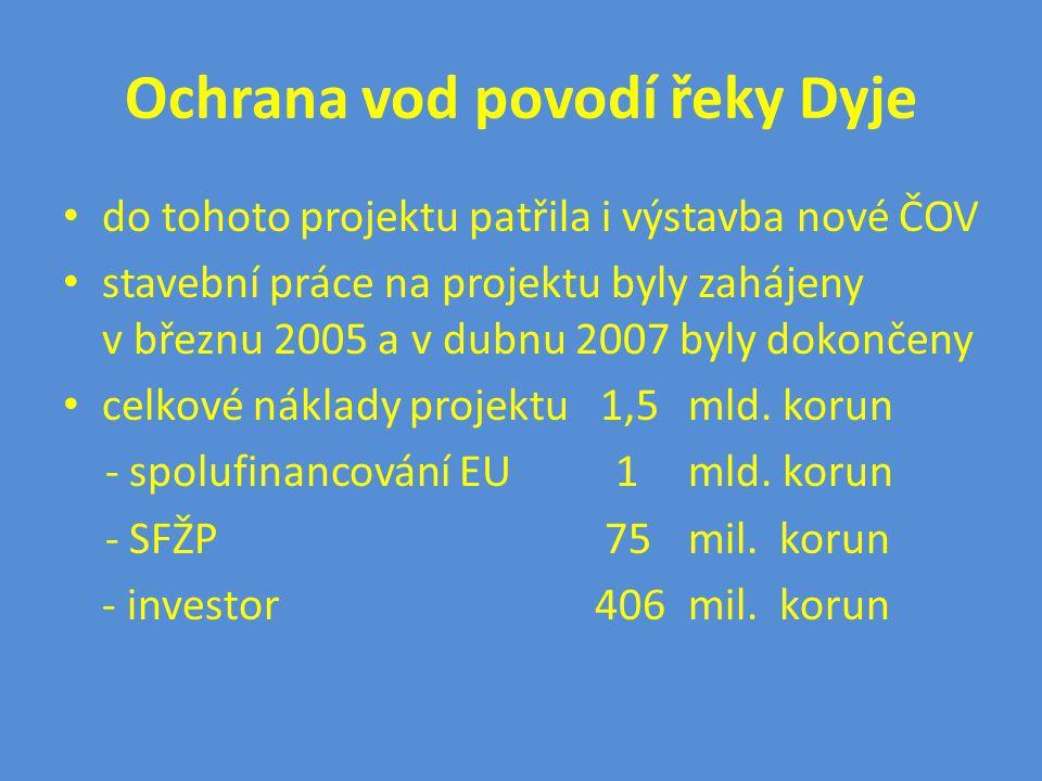 Základní údaje stavby ČOV INVESTOR: MĚSTO NÁMĚŠŤ NAD OSLAVOU PROJEKTANT: VEGAspol v.o.s.