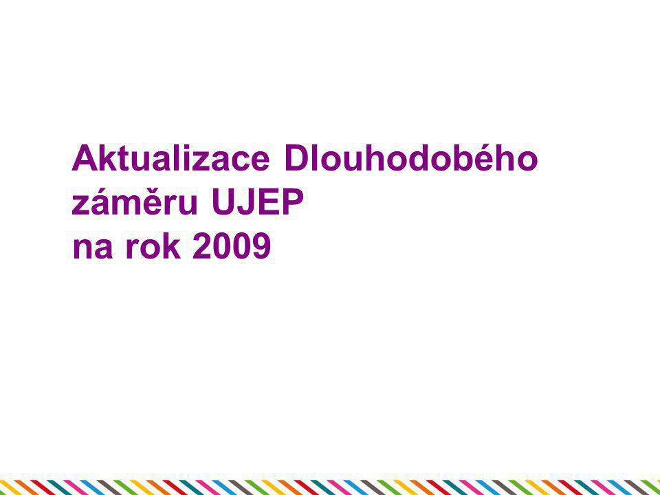 Aktualizace Dlouhodobého záměru UJEP na rok 2009
