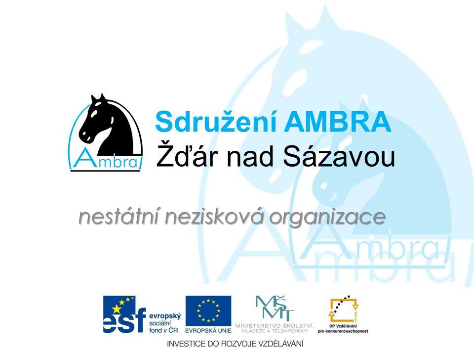 Sdružení AMBRA Žďár nad Sázavou nestátní nezisková organizace