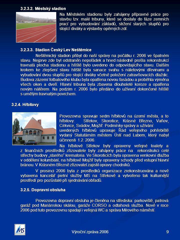 9Výroční zpráva 2006 3.2.3.2.