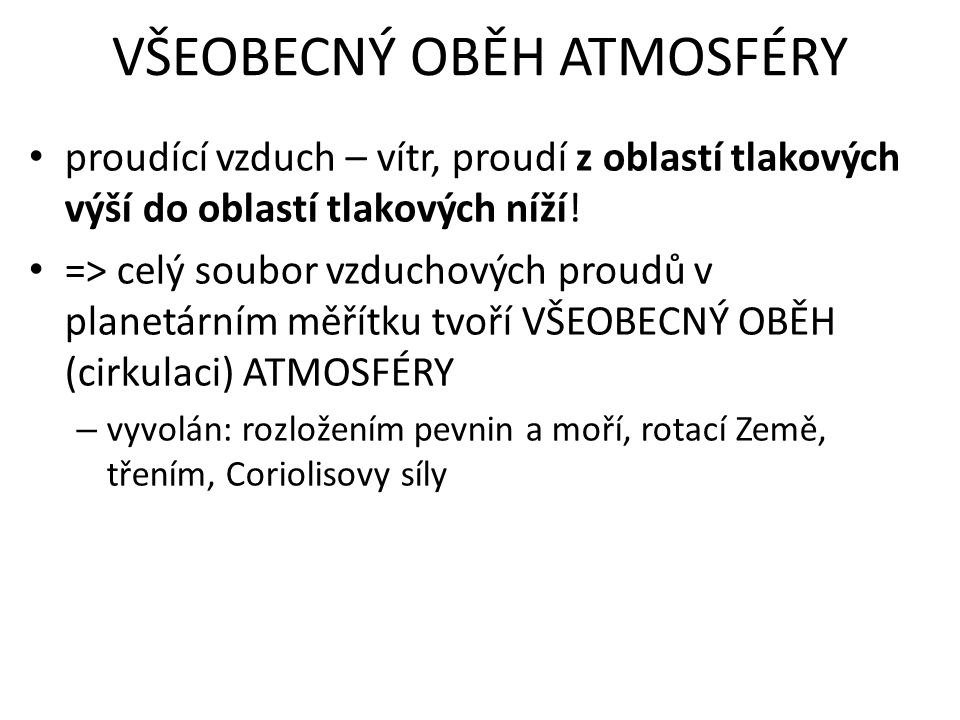 • TROPICKÝ SUCHÝ (15° - 25° j.š., s.