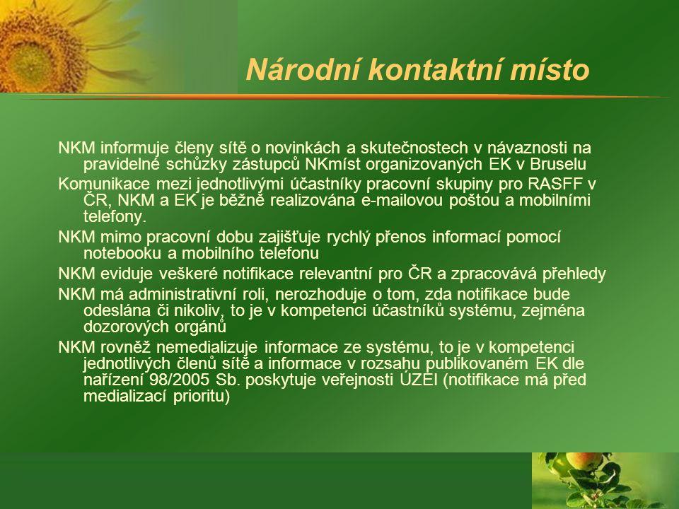 Národní kontaktní místo NKM informuje členy sítě o novinkách a skutečnostech v návaznosti na pravidelné schůzky zástupců NKmíst organizovaných EK v Br