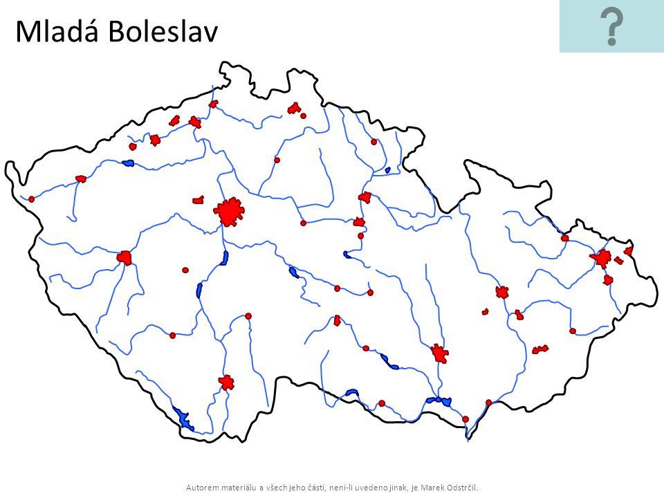 Autorem materiálu a všech jeho částí, není-li uvedeno jinak, je Marek Odstrčil. Mladá Boleslav