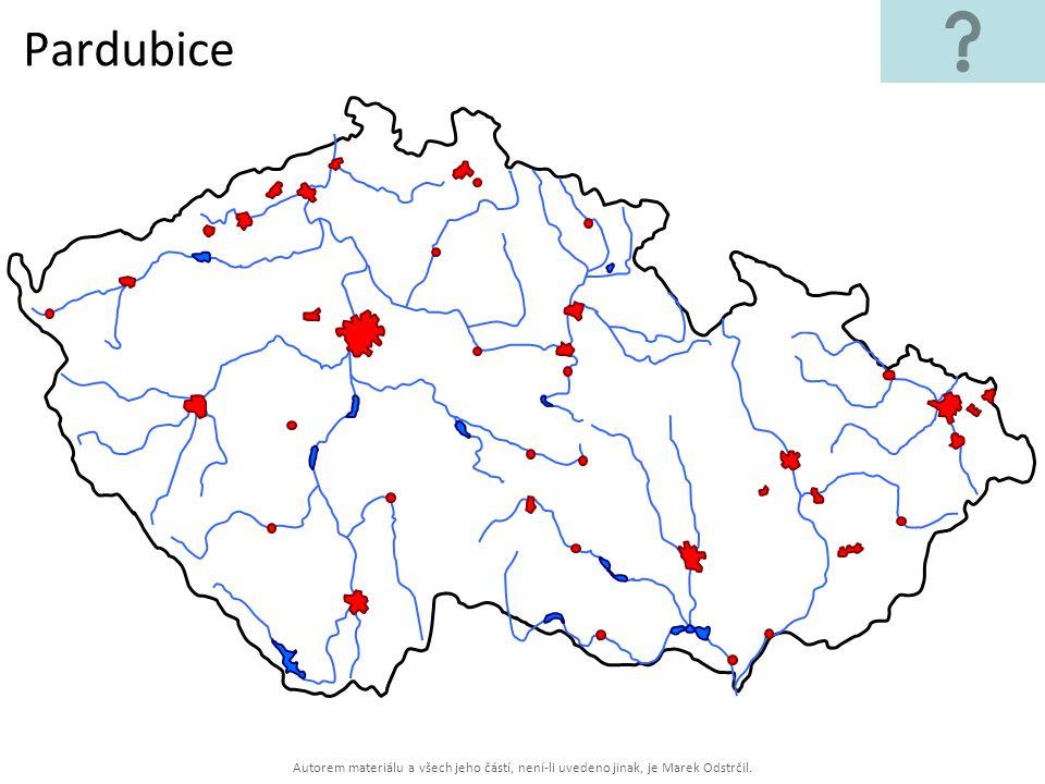 Autorem materiálu a všech jeho částí, není-li uvedeno jinak, je Marek Odstrčil. Pardubice