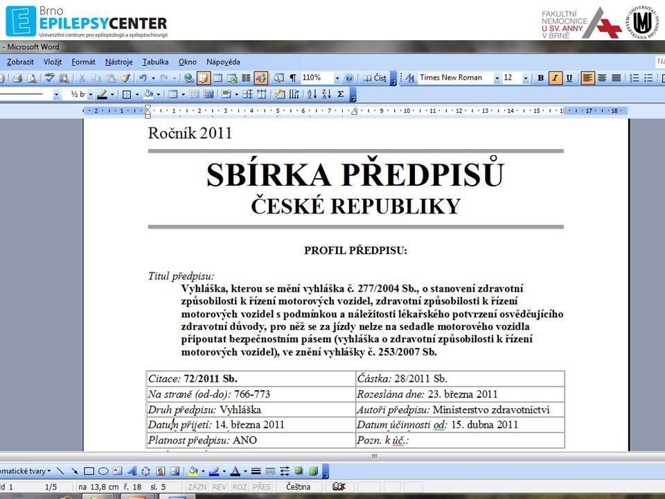 Posuzující lékař dle 361/2000Sb •Registrující praktický lékař •Lékař zařízení závodní preventivní péče •Kterýkoliv praktický lékař, pokud pac.