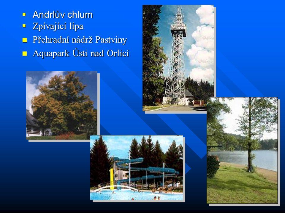  Zámek Nasavrky  Betlém Hlinsko  Hřebčín Slatiňany  Kozlovský kopec  Lanšperk