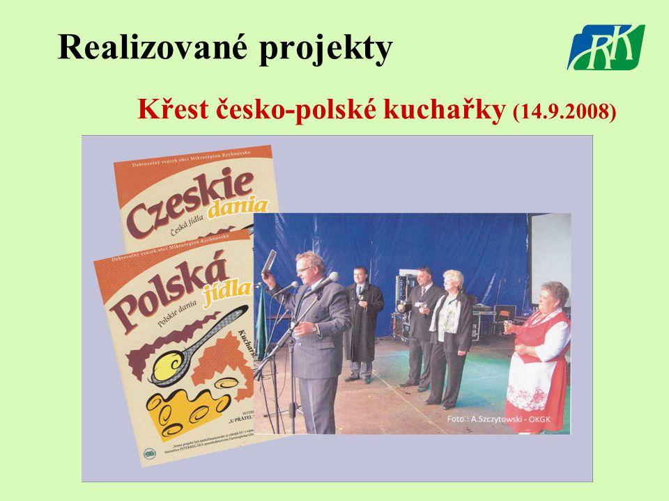 Realizované projekty Křest česko-polské kuchařky (14.9.2008)