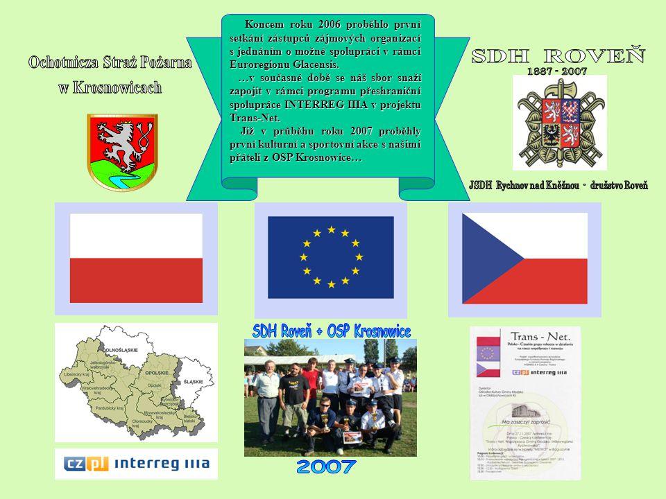 Koncem roku 2006 proběhlo první setkání zástupců zájmových organizací s jednáním o možné spolupráci v rámci Euroregionu Glacensis. Koncem roku 2006 pr