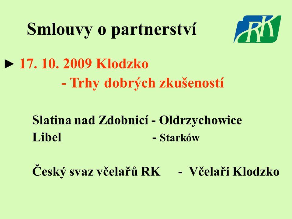 Smlouvy o partnerství ► 17. 10.