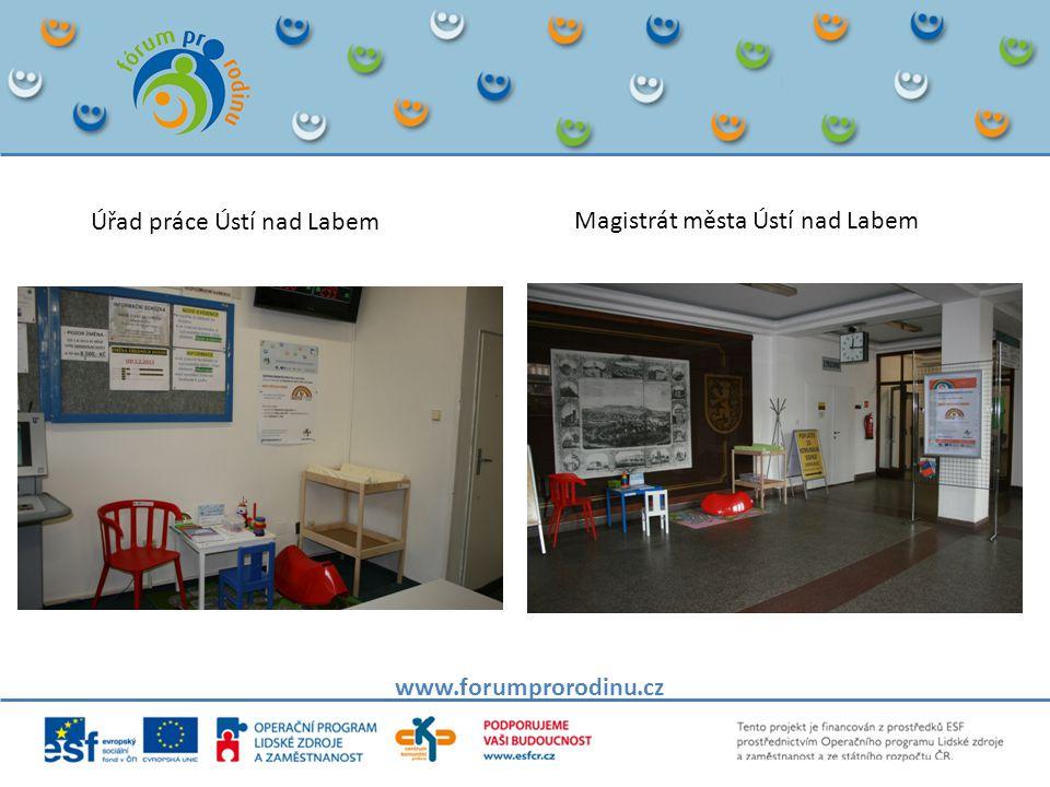 www.forumprorodinu.cz Úřad práce Ústí nad Labem Magistrát města Ústí nad Labem