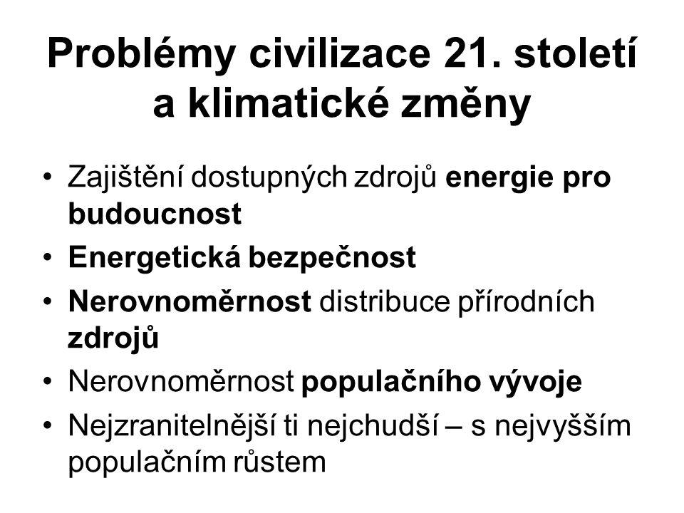 Problémy civilizace 21.