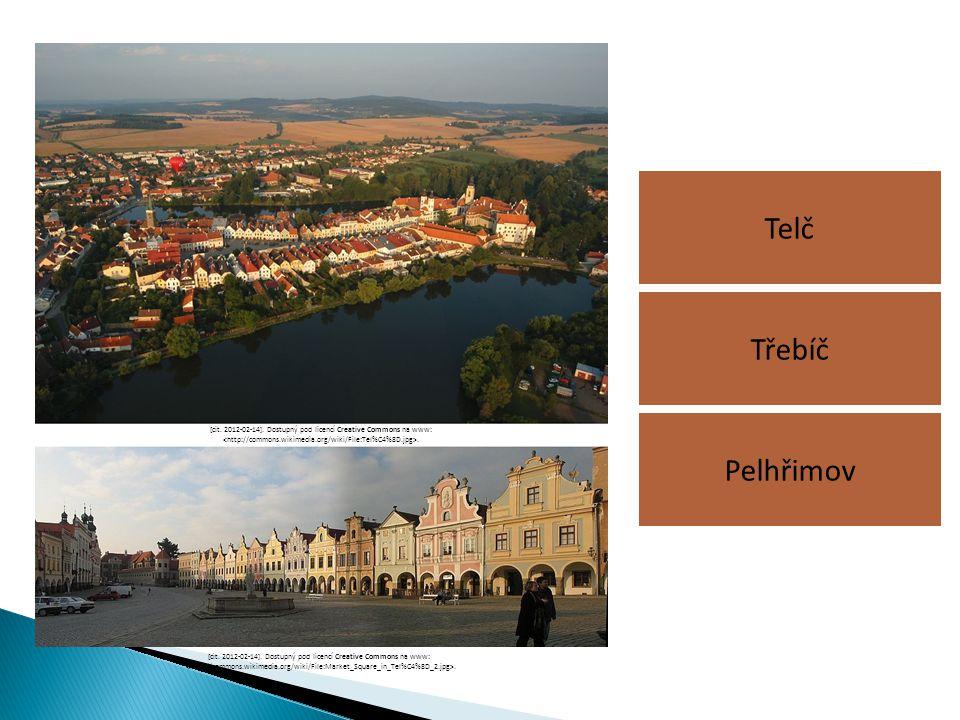 Telč Pelhřimov Třebíč [cit. 2012-02-14]. Dostupný pod licencí Creative Commons na www:. [cit. 2012-02-14]. Dostupný pod licencí Creative Commons na ww