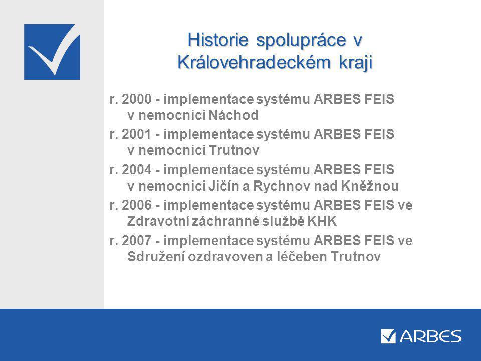 Projekt sjednocení DBS a systému FEIS v nemocnicích KHK - I.