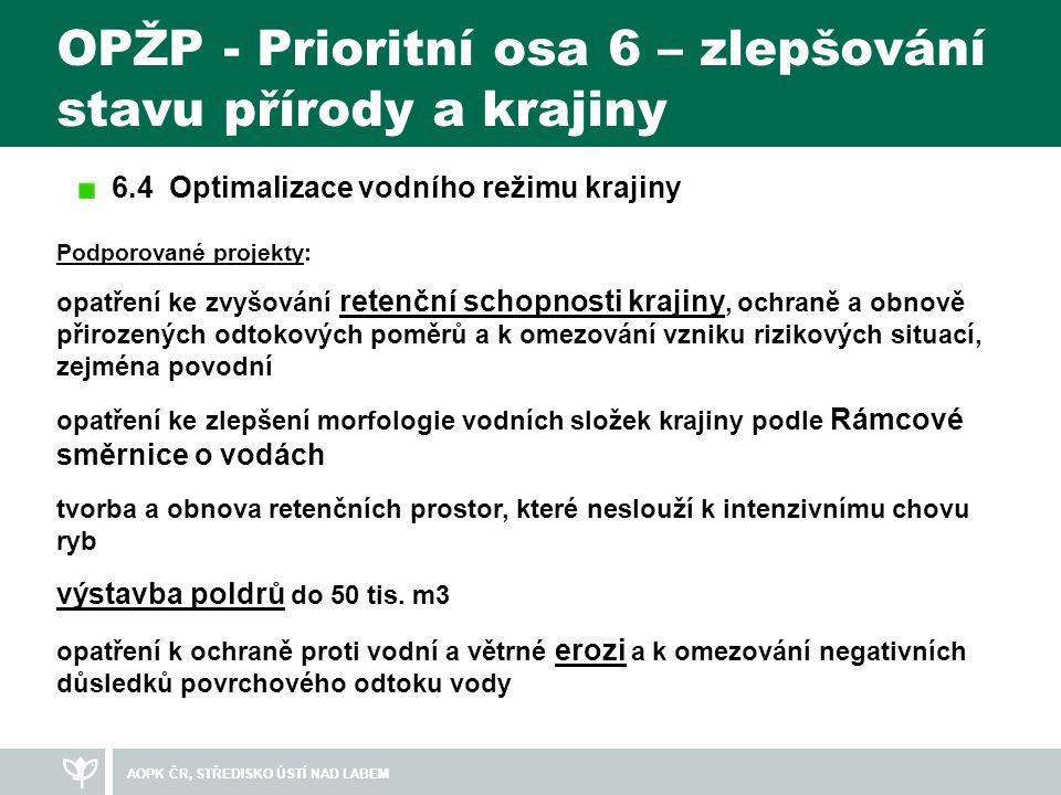AOPK ČR, STŘEDISKO ÚSTÍ NAD LABEM Revitalizace Černého potoka a jeho přítoků Hlavní cíle: 1.