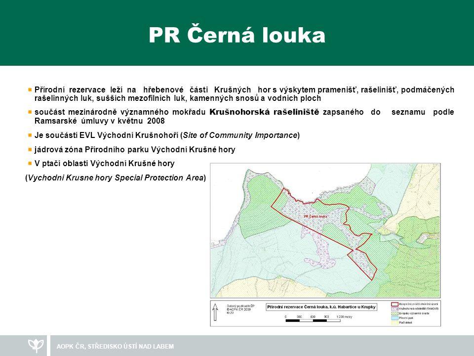 AOPK ČR, STŘEDISKO ÚSTÍ NAD LABEM Fotodokumentace chráněného území
