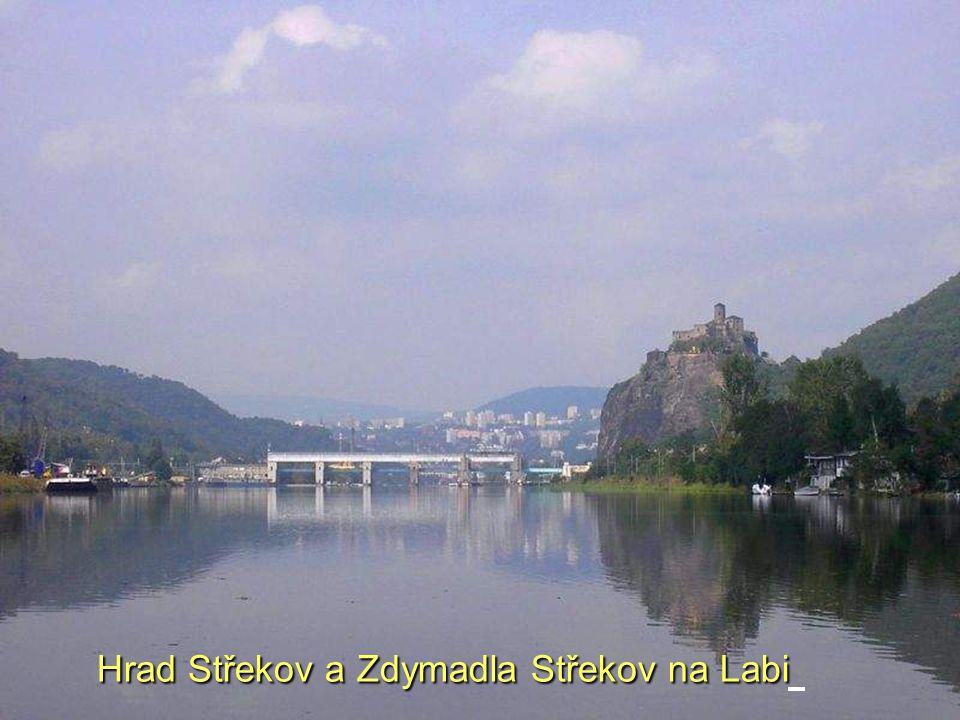 Hrad Střekov a Zdymadla Střekov na Labi