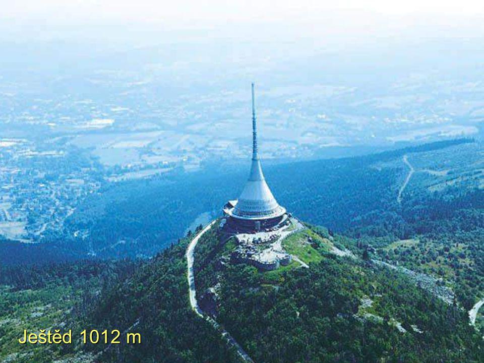 Ještěd 1012 m