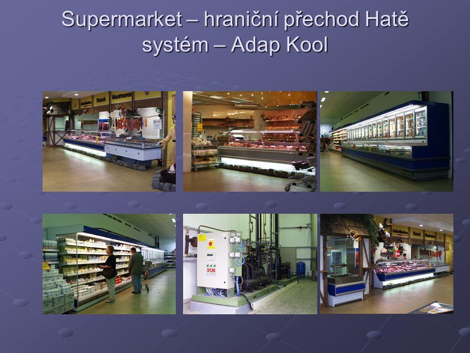 Supermarket – hraniční přechod Hatě systém – Adap Kool