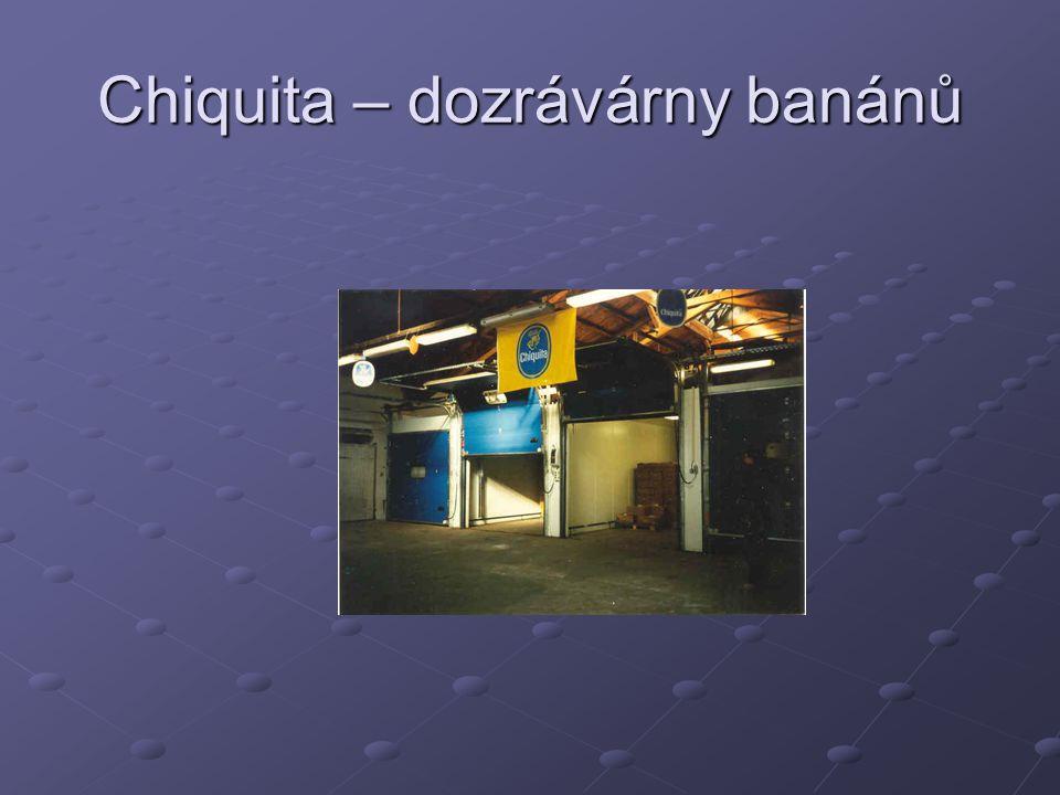 Chiquita – dozrávárny banánů