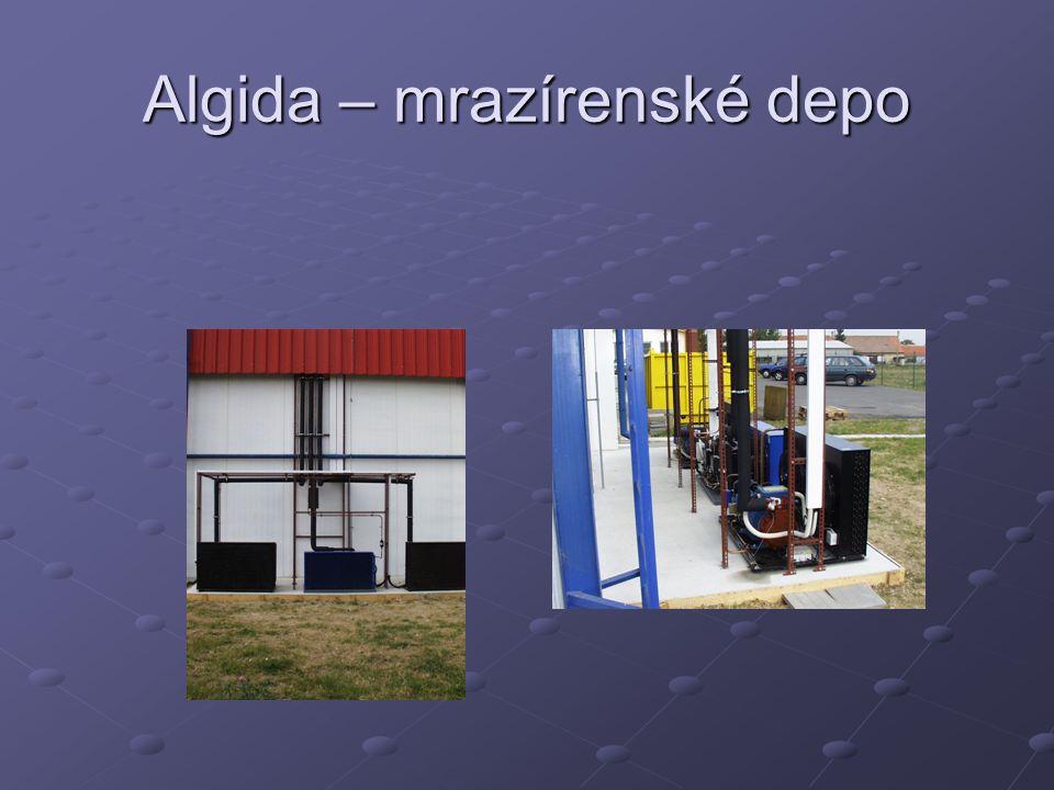 Algida – mrazírenské depo