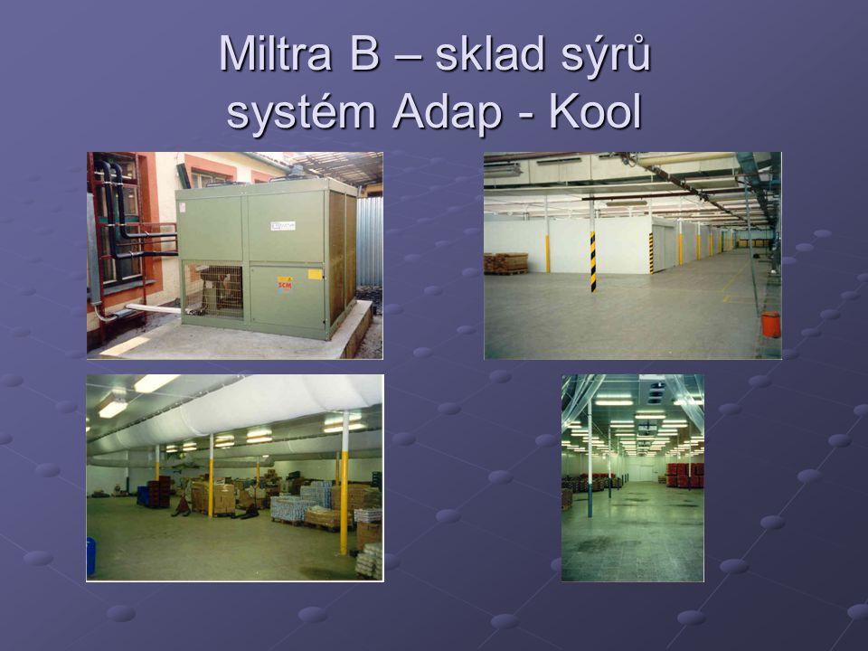 Miltra B – sklad sýrů systém Adap - Kool