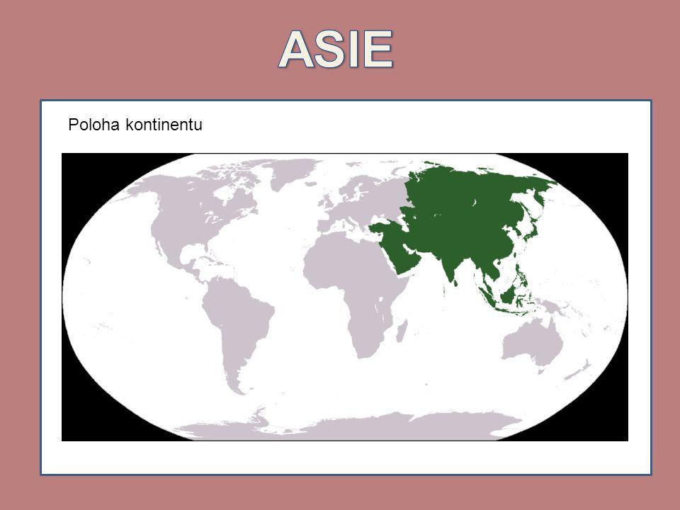 Poloha kontinentu