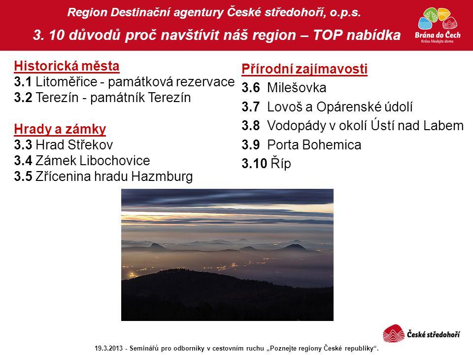 Region Destinační agentury České středohoří, o.p.s.