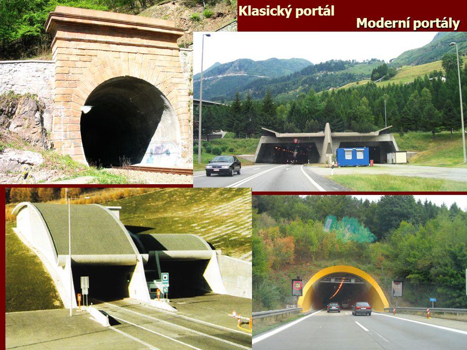 Moderní portály Klasický portál
