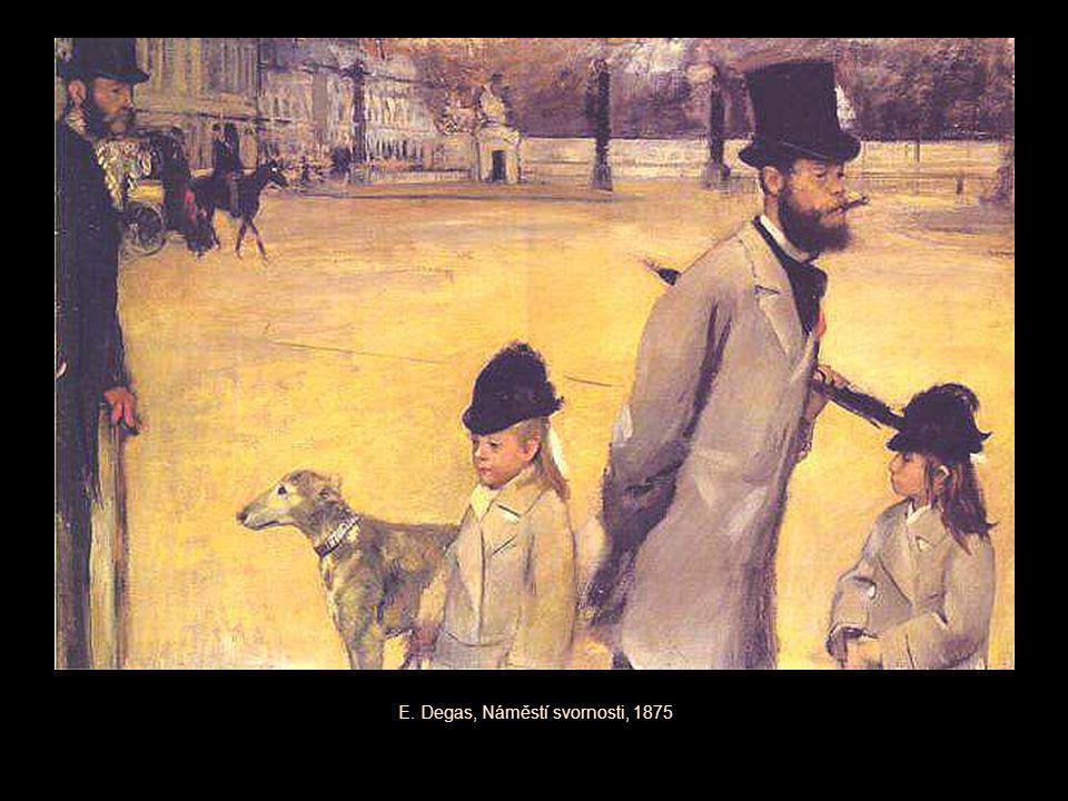 E. Degas, Náměstí svornosti, 1875
