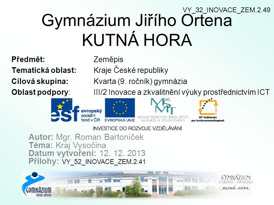 9) Firmy Kraje Vysočina.Spojte, co k sobě patří.