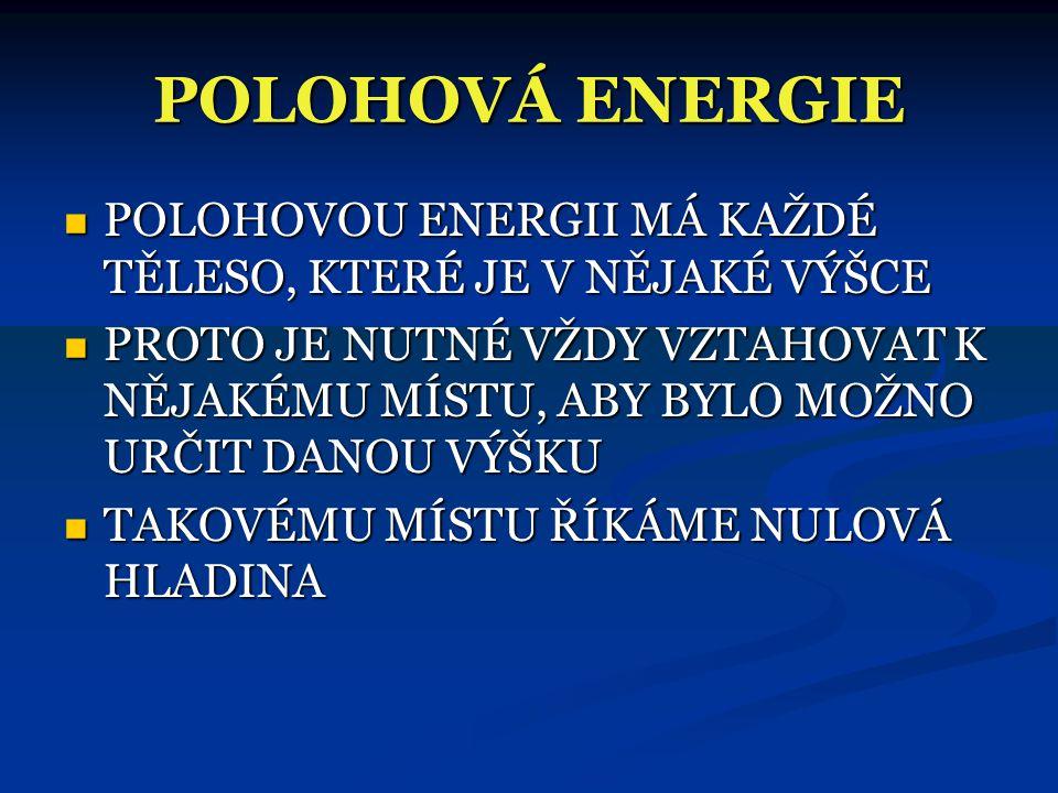 PŘÍKLADY K PROCVIČENÍ  PŘ 1)  JAKOU KINETICKOU ENERGII MÁŠ, BĚŽÍŠ-LI RYCHLOSTÍ 36 km/h?  PŘ 2)  JAKOU HMOTNOST MÁ TĚLESO, MÁ-LI PŘI RYCHLOSTI 72 k