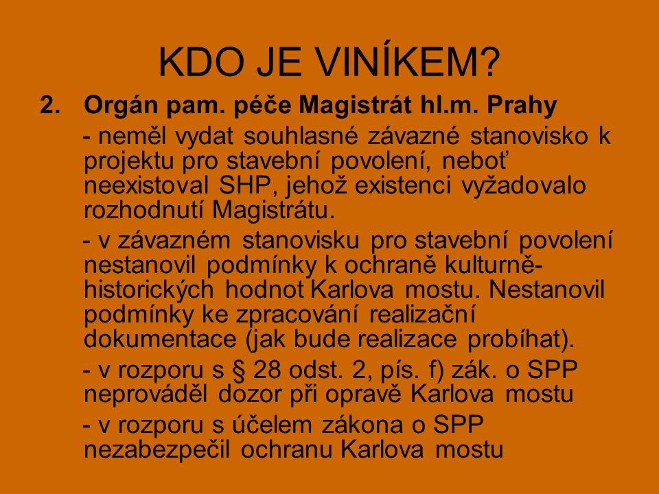2.Orgán pam. péče Magistrát hl.m.