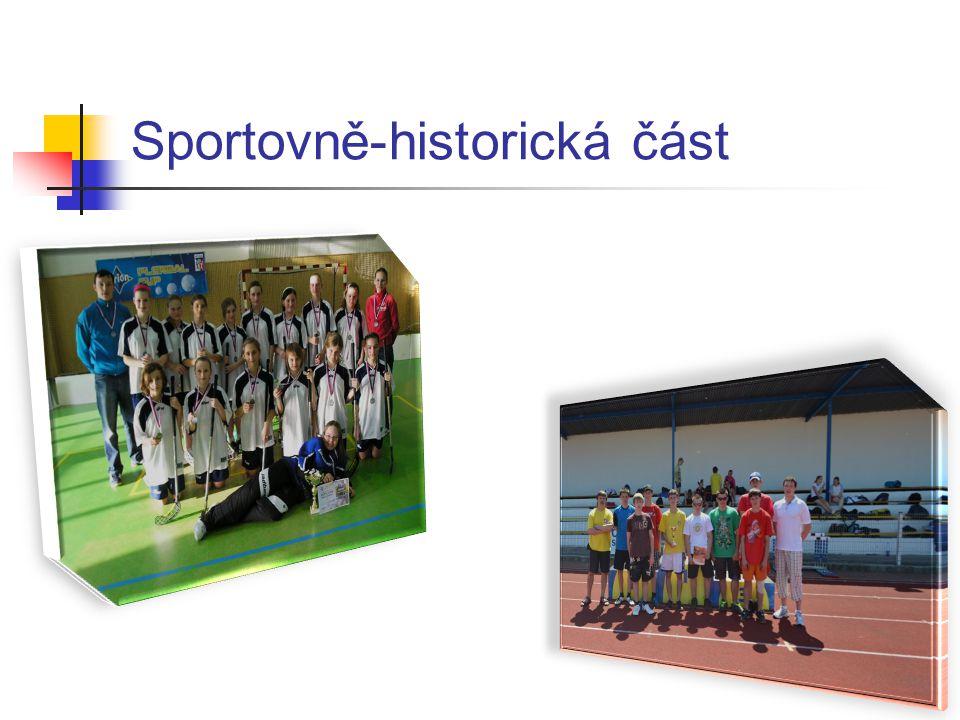 Sportovně-historická část