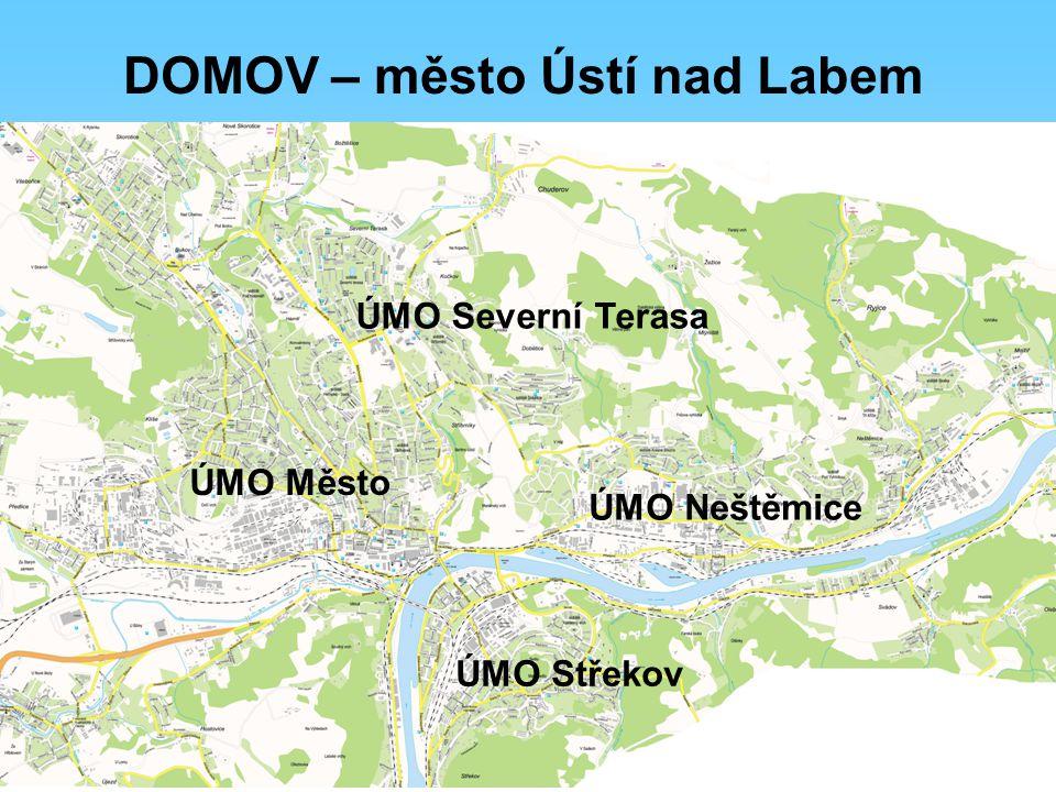 Představ si, že tě osloví cizinec s radou, jak se dostane na nějaké významné místo v Ústí nad Labem.