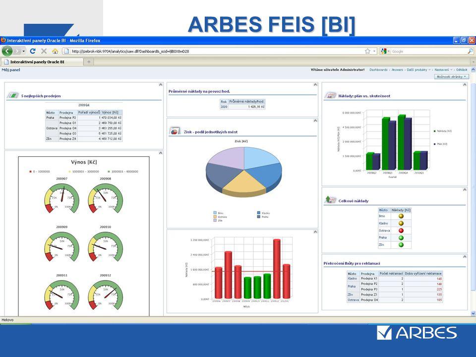 ARBES FEIS [BI] Vzorový report