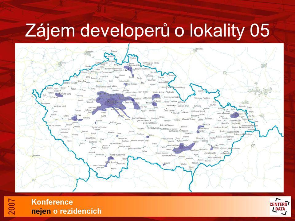Zájem developerů o lokality 05