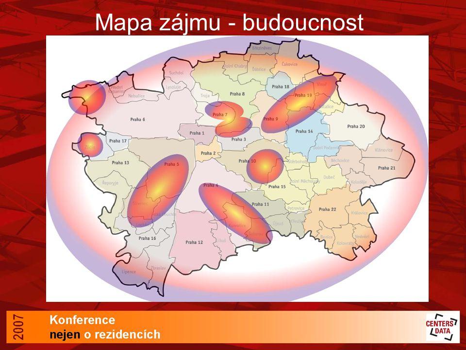 Mapa zájmu - budoucnost