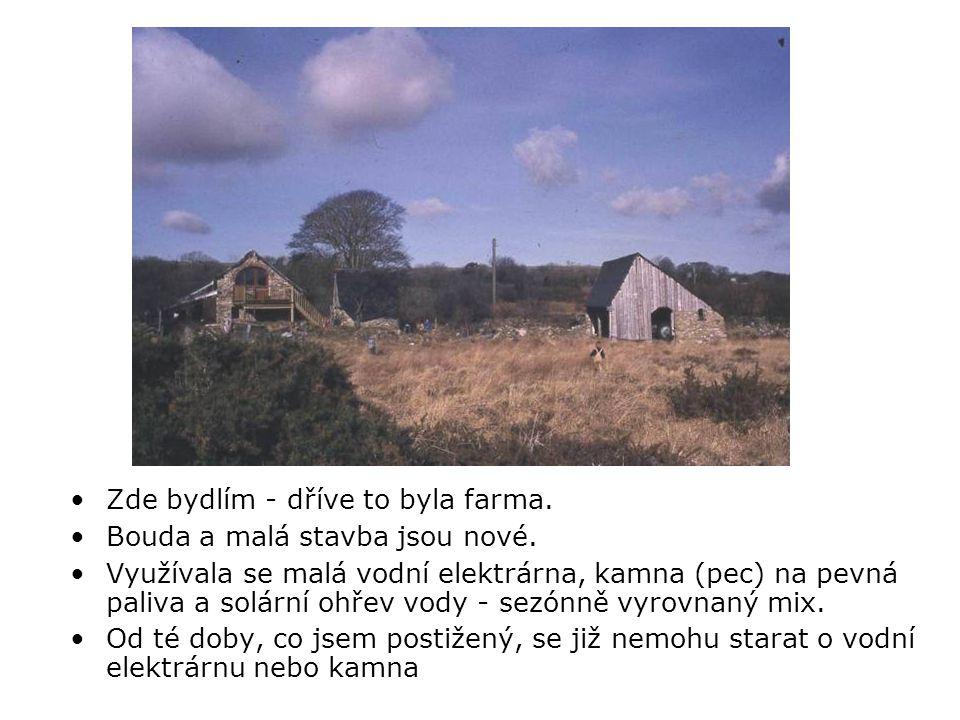 •Zde bydlím - dříve to byla farma. •Bouda a malá stavba jsou nové.